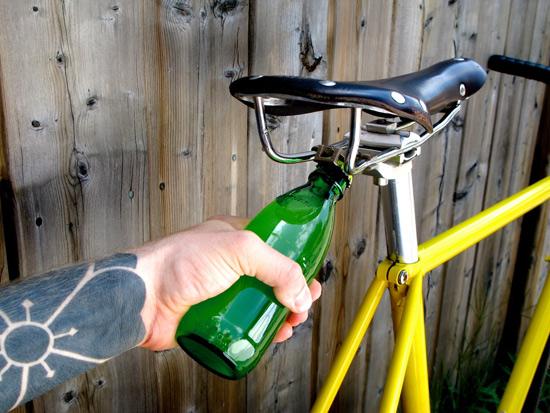 Необычайный велокомпонент Bike-bootle