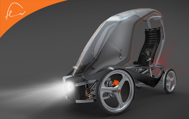 Для любой погоды Velomobile-Floow-light
