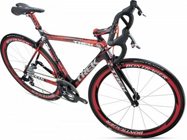 Велосипед, раскрашенный вручную 2011_Trek