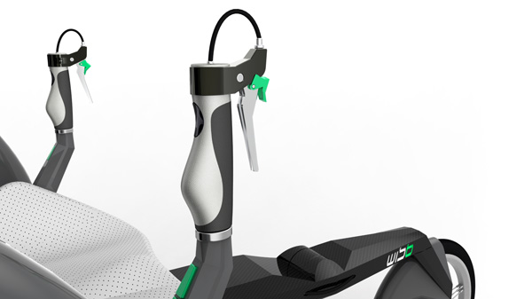 Велосипед для инвалидов Wisb_04