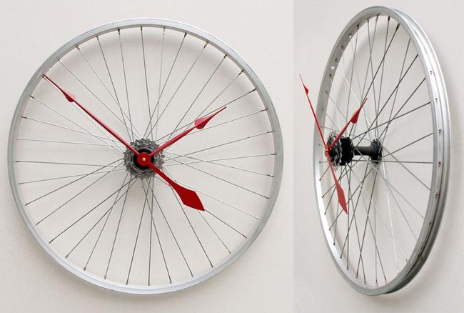 А можно из остатков велосипеда делать что-то полезное, даже тогда, когда велосипедная жизнь закончилась.